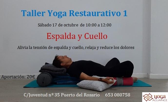 Taller de Yoga Restaurativo