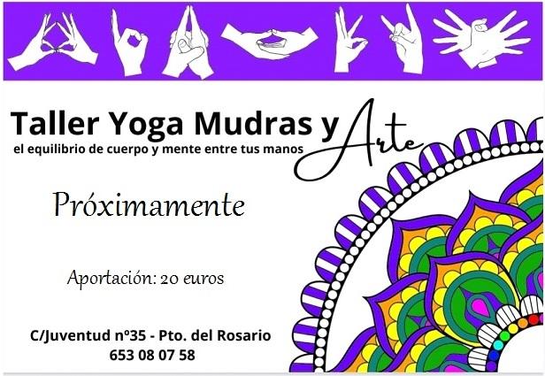 Taller de Yoga Mudras en Fuerteventura