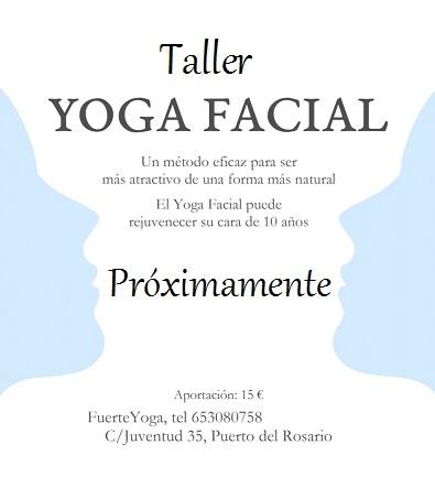 Taller de Yoga Facial en Fuerteventura