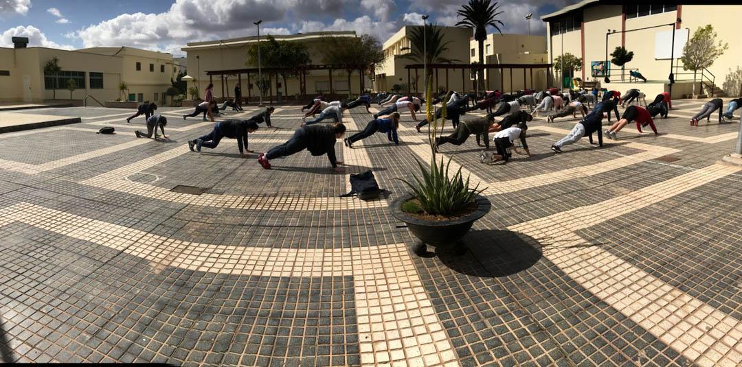 Yoga en institutos Fuerteventura